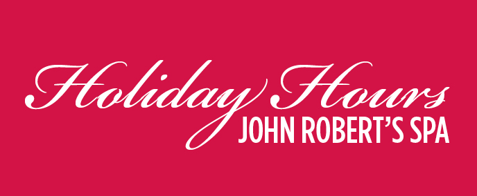 JR Holiday Hours of Operation