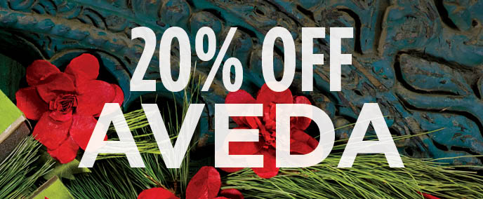 20% off Aveda Pre-Sale Orders till Nov. 8th