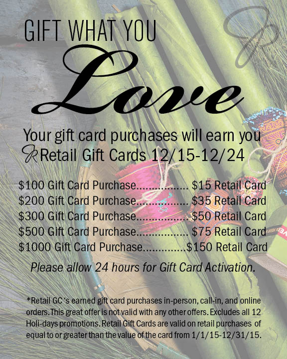 Gift What You Love
