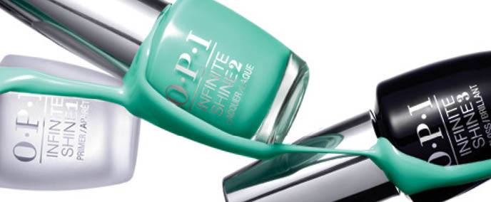 Try an Opi Infinite Shine Manicure