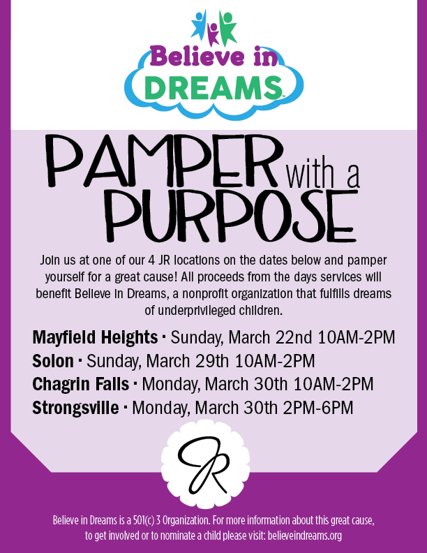 Pamper with a Purpose in March
