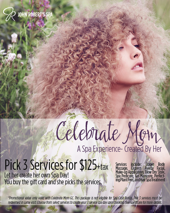 Celebrate Mom Custom Spa Package