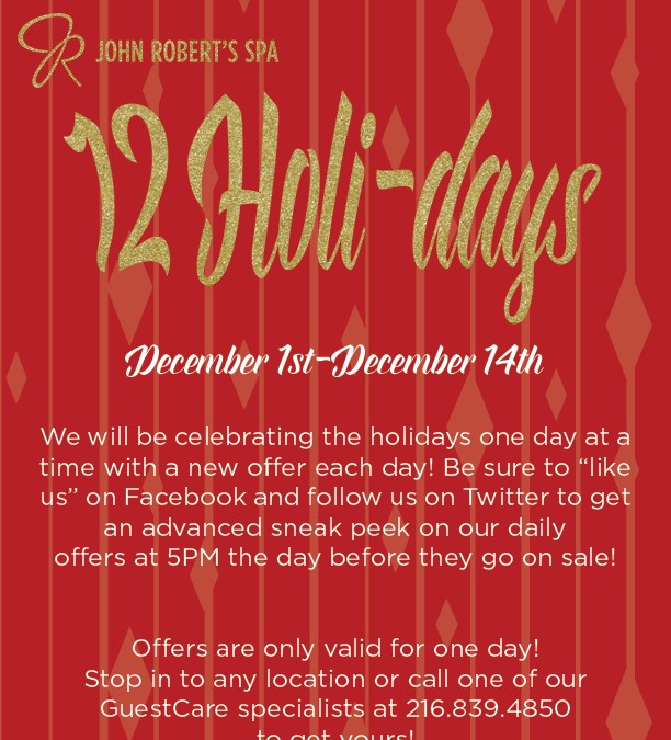 12 Holi-days of Deals